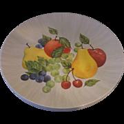Royalon Fruit Delight Melmac Dinner Plates Set of 4