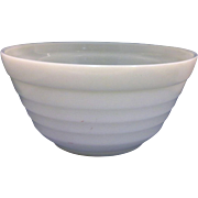 Hazel Atlas Moderntone Platonite White Milk Glass 9 IN Mixing Bowl
