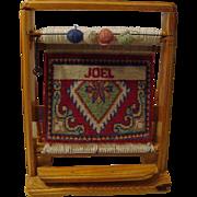"**1920's: Persian Rug Loom "" Salesman's Sample """