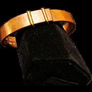 Crica 1950's:  Copper Bracelet by Tiffany & Company