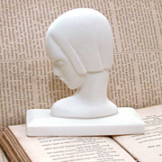 Art Deco Lenox Bisque Bust