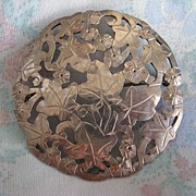 Fabulous Stavre & Gladys Panis Sterling Pin