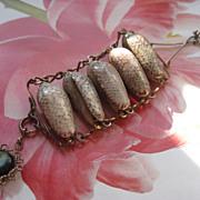 Victorian Sea Shell Watch Chain