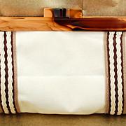 Vintage John Wind Clutch Purse Handbag
