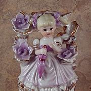 Vintage Spring- Summer Porcelain Girl