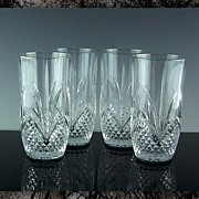 Royal Crystal Rock Highball or Beverage Glasses