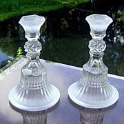 Tiara/Indiana Glass Candlestick Pattern #10032