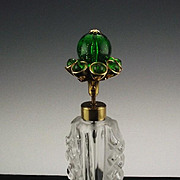 Irice Perfume Bottle Made in Japan ca 1950's