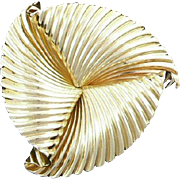 Fabulous Tiffany 14K Pinwheel Brooch