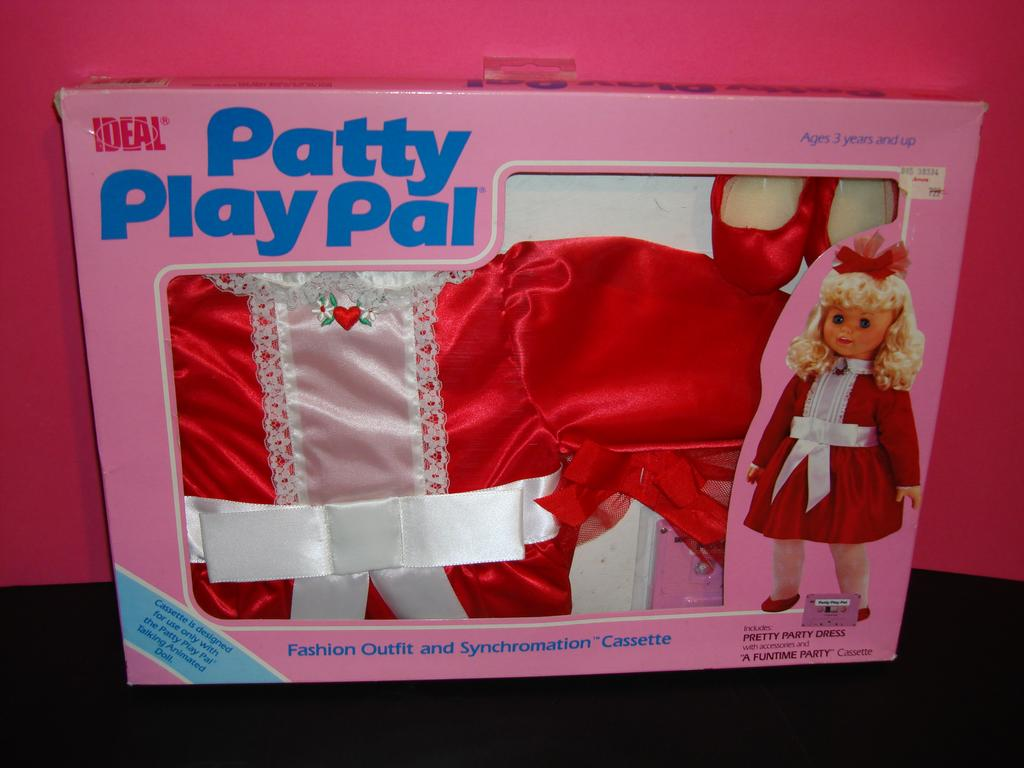 NRFP Ideal Talking Patty Playpal Clothing and Tape