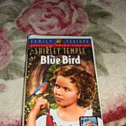 "NRFP Shirley Temple VHS Tape ""The Blue Bird"""
