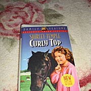 """NRFP Shirley Temple VHS Tape """"Curly Top"""""""