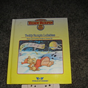 """WOW Teddy Ruxpins Book and Tape- """"Teddy Ruxpin Lullabies"""""""