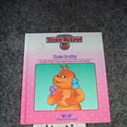 """WOW Teddy Ruxpins Book and Tape- """"Uncle Grubby"""""""