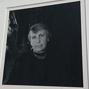 IMOGEN CUNNINGHAM (1883-1976) fine photography pencil signed rare photo of Anna Freud dated 19