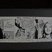 Comic strip art original REX MORGAN, M.D. dated May 5, 1982