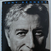 "Signed book ""The Good Life"" by famed American singer and artist TONY BENNETT"