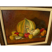 """MARTIN """"Marty"""" KATON (1946-) contemporary realism still life painting by acclaimed artist"""
