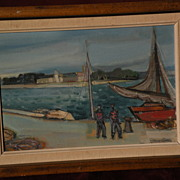 LUCIEN NEUQUELMAN (1909-1988) French well listed contemporary art painting