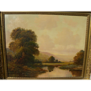 A. SPENCER traditional oil landscape painting