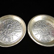 Two Vintage Mrs. Smith's Mello-Rich Pie Tins