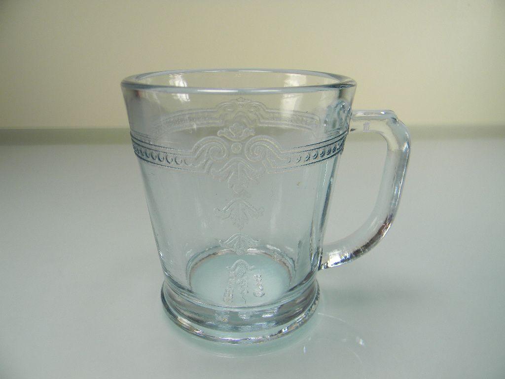 Fire King Sapphire Blue Philbe Mug