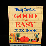 Vintage 1954 Betty Crocker's Good and Easy Cook Book
