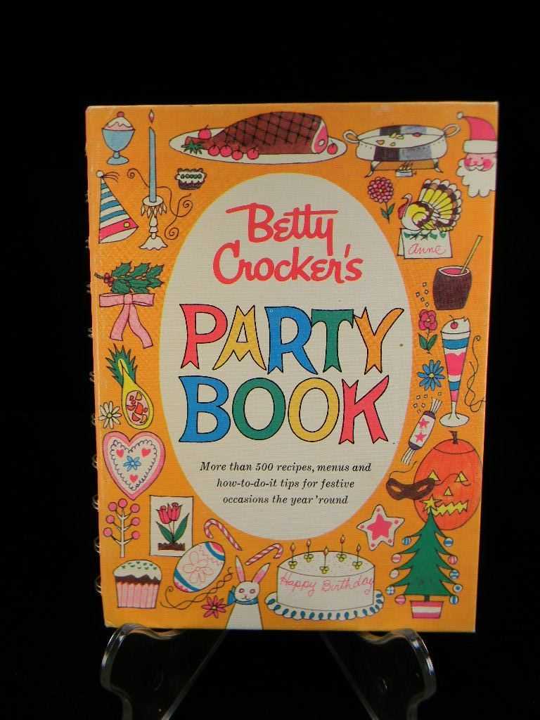 Vintage 1960 Betty Crocker's Party Book