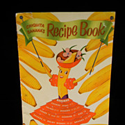 Vintage 1950 Chiquita Banana's Recipe Book
