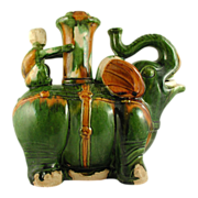 Chinese San Chai Wine Vessel