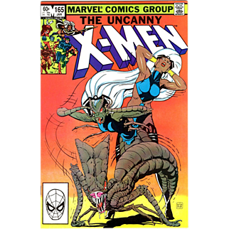 SALE The Uncanny X-Men vol.1 #165 from 1 owner collection near mint/mint 9.8 see scans