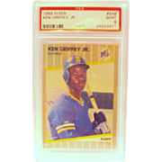 1989 Fleer #548  Ken Griffey Jr. Rookie card  PSA graded  Mint 9  #24553671