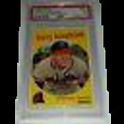 1959 Harry Hanebrink Topps baseball card #322 PSA VG 3 (no trade statement)