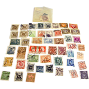 Antique 1800s to early 1900s era lot of used cancelled stamps from Austria