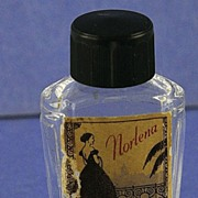 """Unique! Circa 1920's, French, """"Bouquet of France"""" by Norlena, Mini, Commercial Perfume Bottle"""