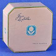 "SALE Terrific! Unopened, Circa 1940, American, ""Ochre Rose"" Face Powder by Jean La Salle, in Original, Pastel Pink Colored, Cardboard Box"