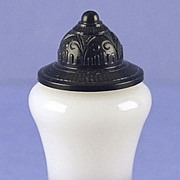 """Artistic & Unusual! Circa 1937, American, """"Infatuation"""" by Duchess of Paris, Lantern Shaped, Novelty, Commercial Perfume Bottle"""