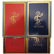 Reduced! Ready Kilowatt Unopened playing cards.  Still in cellophane