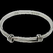 Ed Levin – Sterling Silver – Signature Slide Bracelet