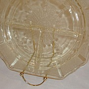 Anchor Hocking Depression Glass Princess Grill Plates