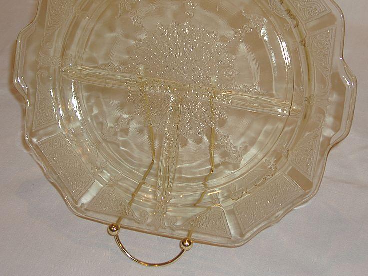 Anchor Hocking Depression Glass Princess Grill Plates