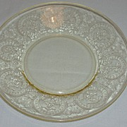 Indiana Depression Glass Horseshoe Saucers - RARE