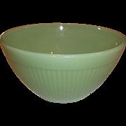 Fire King Jadeite Jane Ray Ribbed Vegetable Bowl