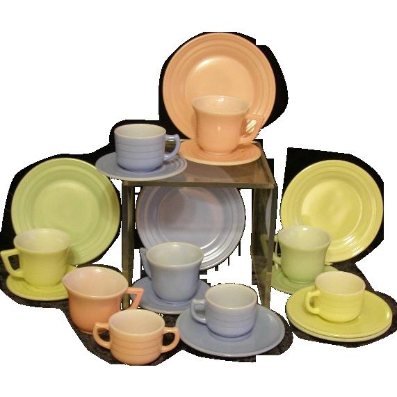 Little Hostess doll tea set 1930's
