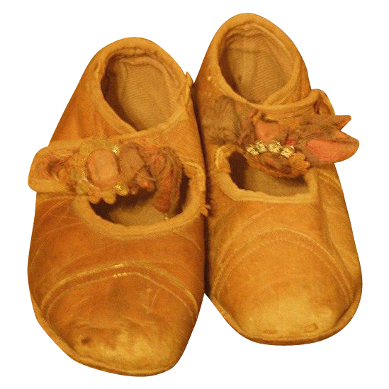 Wonderful Antique shoes for a child or large doll