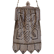 Beautiful vintage mesh purse