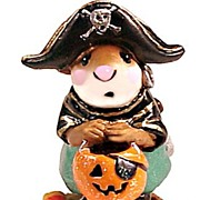 Wee Forest Folk Sculpture - Little Pirate Kidd