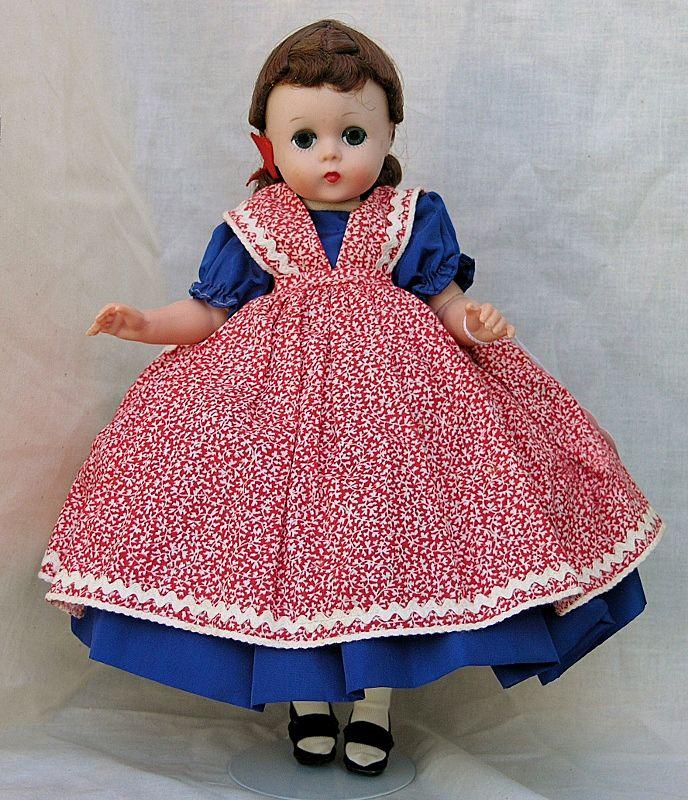 """Madame Alexander 12"""" Lissy as Jo from Little Women"""