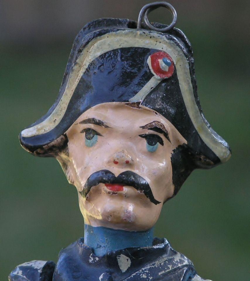 Composition Doll In British Royal Navy Dress Uniform