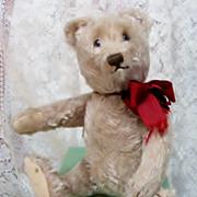 SALE PENDING 11 inch Vintage Steiff Mohair Bear